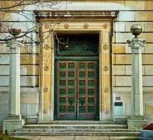 Porte du temple maçonnique | Rite Ecossais Rectifié | 2