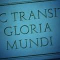 Sic transit Gloria Mundi | Rite Ecossais Rectifié