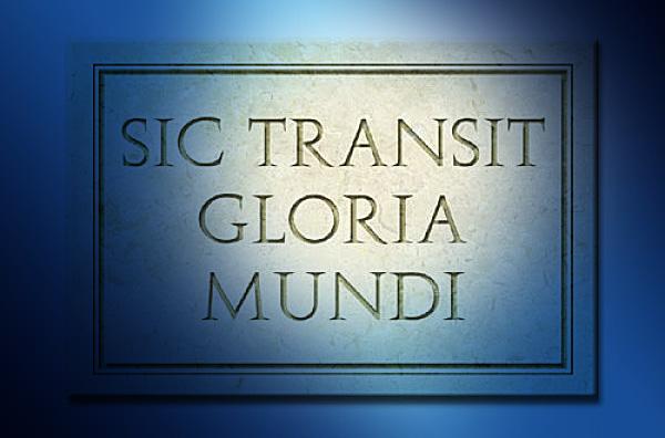 Sic transit Gloria Mundi | Rite Ecossais Rectifié -2