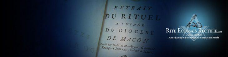 Sources du RER | Rite Ecossais Rectifié